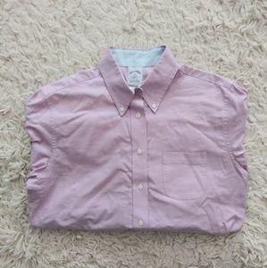 Brooks Brother's Lavender Dress Shirt Size 10